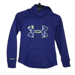 Under Armour Strorm 1 Purple Cold Gear Hoodie